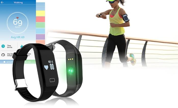Pulsera deportiva bluetooth frecuencia cardiaca por 39,99 € (73% de descuento)