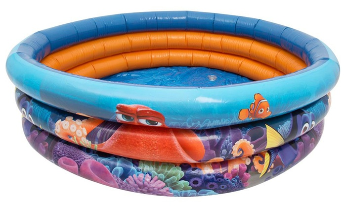 Piscine gonflable pour enfant dory groupon shopping for Piscine 3m de diametre
