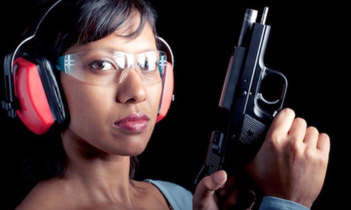 Pembroke Gun & Range - Pembroke Park: Shooting-Range Package for Two or Four at Pembroke Gun & Range in Pembroke Park (Up to 56% Off)