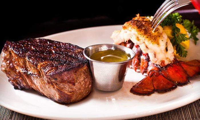 Ki's Steak and Seafood - Glendale Heights: Steak and Seafood for Two or More at Ki's Steak and Seafood in Glendale Heights (Up to 51% Off)