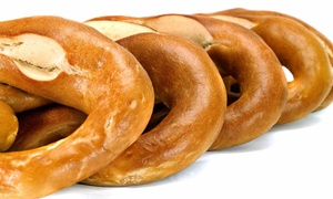 Wetzels Pretzels: $10 for Five Groupons, Each Good for $4 Worth of Soft Pretzels and Snacks at Wetzel's Pretzels ($20 Value)