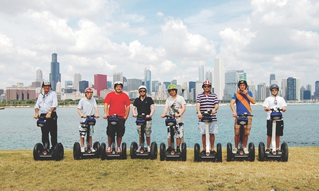 Sunset Segway Tour from Millennium Park or�Hyde Park Tour�?for Two from Bike and...
