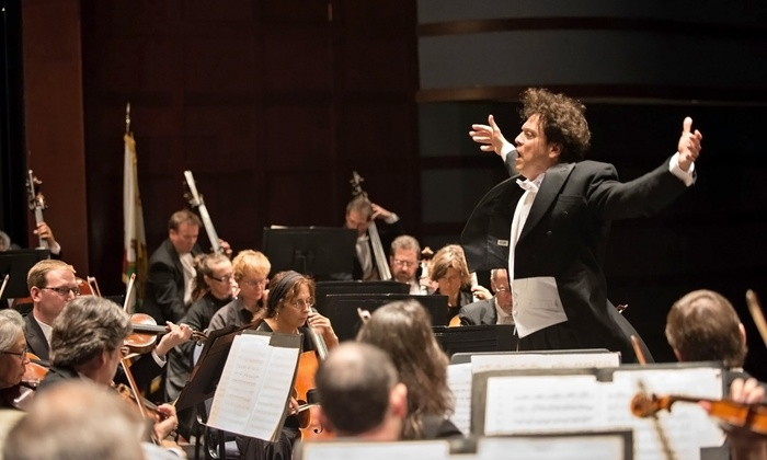 """California Symphony: """"Be My Valentine - The Greatest Love Story Ever Told"""" - Downtown Walnut Creek: California Symphony: """"Be My Valentine"""" at Lesher Center for the Arts – Hofmann Theatre on February 11 (Up to 54% Off)"""