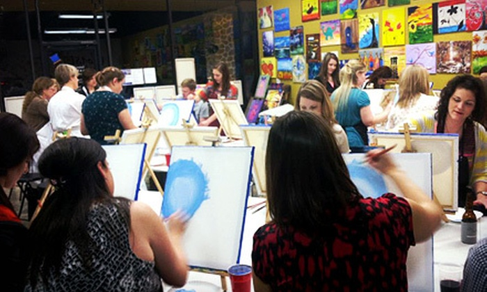 Colors to Cocktails Sip & Paint Art Studio - Bedford Meadows: BYOB Art Event at Colors to Cocktails Sip & Paint Art Studio (Half Off)