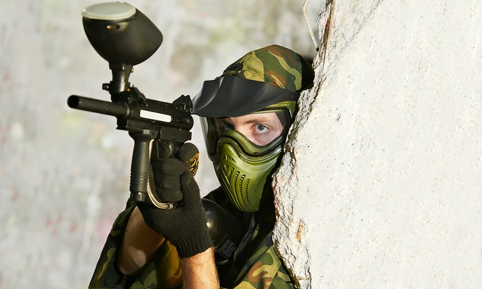 Flag Raiders - Kitchener: Indoor Paintball Package for Two or Four at Flag Raiders (46% Off)
