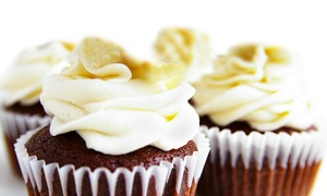 Simply Frosted Cupcakes: $15 for One-Dozen Large Cupcakes at Simply Frosted Cupcakes ($30 Value)
