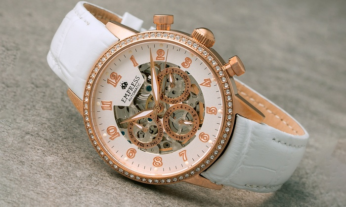 Groupon Goods Global GmbH: Montre pour femme Empress, collection Beatrice