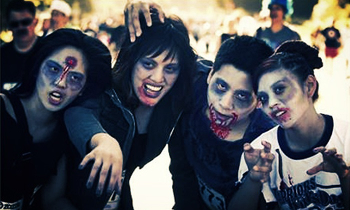 Zombie Nation 5K - Des Moines: $35 for Two Groupons, Each Good for Zombie Nation 5K Race Entry ($70 Value)