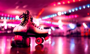 The Wigwam Roller Rink: Disco Roller Skating for Up to Four at The Wigwam Roller Rink (Up to 45% Off)