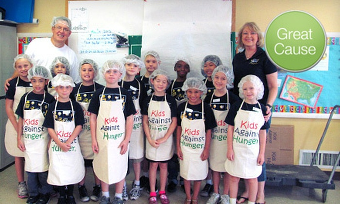 Kids Against Hunger Florida Division - Orlando: $10 Donation to Help Host Food-Packing Event