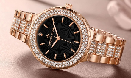 Timothy Stone Women's Gala Watches with Crystals from Swarovski®: One ($29) or Two ($45) (Don't Pay up to $299.80)