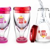 Asobu Ice Vino 2 Go Mommy's Sippy Cup Wine Travel Cups (2-Pack)