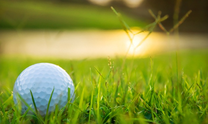 Red Barn Golf Course - Oaks: Two or Four Nine-Hole Rounds of Golf or 10 Buckets of Range Balls at Red Barn Golf Course in Rockton (Up to Half Off)