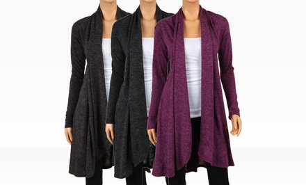 Angora Knee-Length Cardigans. Multiple Colors Available. Free Returns.
