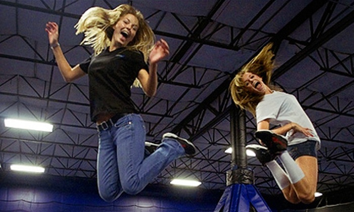 BOING! Jump Center - Tampa: Trampolining and Video Gaming Session for One, Two, or Four at Boing! Jump Center (Up to 57% Off)