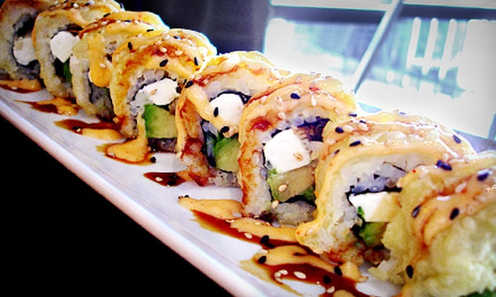 Red Bowl - Lexington: $10 for $20 Worth of Chinese, Thai, and Japanese Cuisine for Dinner at Red Bowl