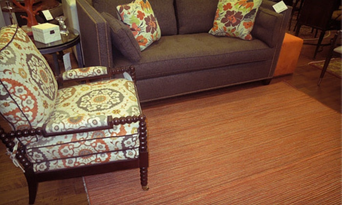"Benjamin Rugs and Furniture - North End: 2' 6""x8', 3' 6""x5' 6"", or 5'x8' Handwoven Rug or $50 for $150 Worth of Home Furnishings at Benjamin Rugs and Furniture"