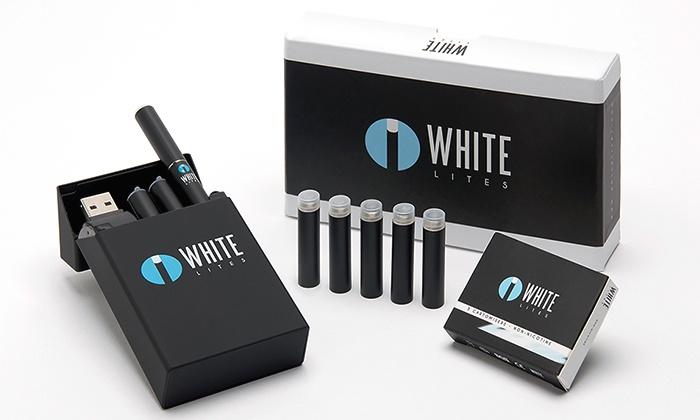 White Lites: $22 for an Electronic-Cigarette Starter Kit from White Lites ($99.99 Value)