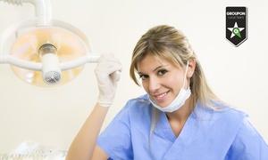 Studio dentistico Cabano: Seduta odontoiatrica in centro con pulizia o in più otturazione e sbiancamento LED