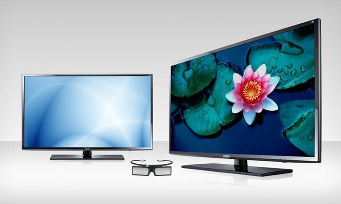Samsung 40'' 3D LED 1080p HDTV (UN40EH6030): Samsung 40'' 3D LED 1080p 120Hz HDTV with 3D Glasses (UN40EH6030).