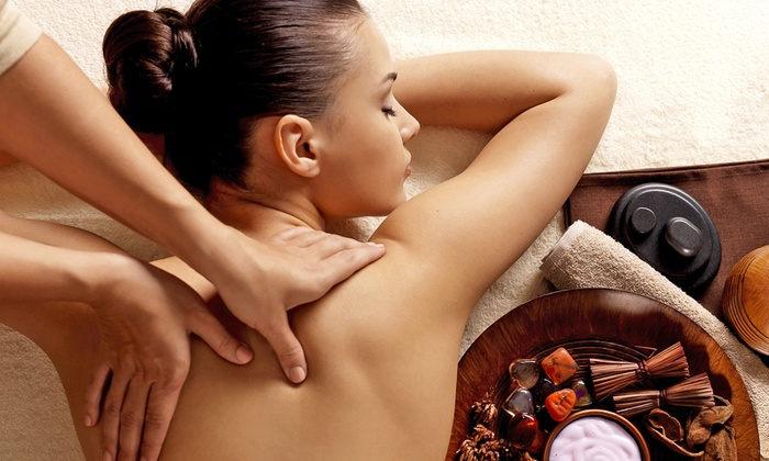 Meridian Day Spa - Montebello: Aromatherapy Massage with Optional Fusion Facial, or All-Day Spa Entry at Meridian Day Spa (Up to 47% Off)