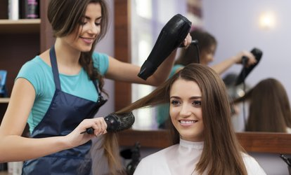 image for Cut, Blow-Dry and Conditioning Treatment at GeGe Hair and Beauty (56% Off)