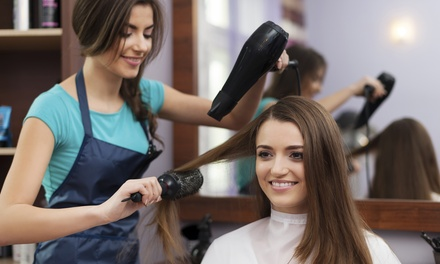 Haircut and Blow Dry with Option to Include Partial or Full Highlights at HaiRazor'z (Up to 66% Off)