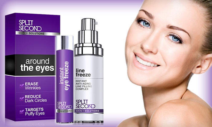 Split Second: Around the Eyes Instant Freeze Duo: $29 for a Split Second: Instant Eye Freeze and Line Freeze Set ($96 List Price). Free Shipping.