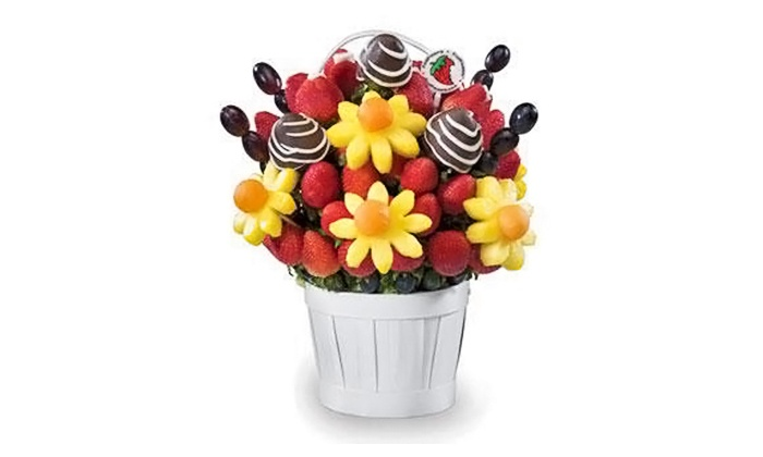 FruitFlowers - Waldwick: Fruit Bouquets from FruitFlowers (Up to 50% Off). Three Options Available.