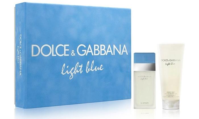 Dolce & Gabbana Light Blue Eau de Toilette and Body Cream Gift Set: Dolce & Gabbana Light Blue Eau de Toilette and Body Cream Gift Set. Free Shipping.