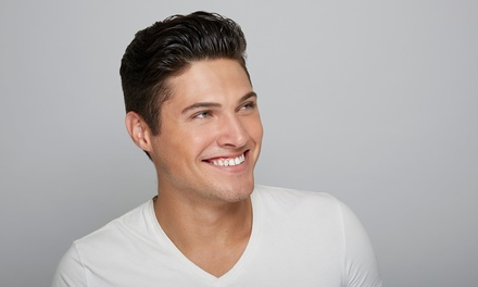 Men's Full-Body Trim Package, or a Men's Haircut and Style at Men's Spa (58% Off)