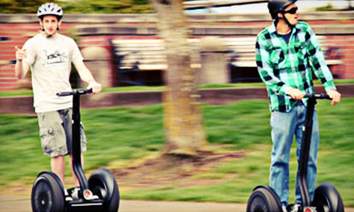 Seattle By Segway - Pioneer Square: $35 for a 90-Minute Segway Tour for One from Seattle By Segway ($75 Value)