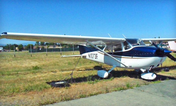 North Coast Air - North Coast Air: $89 for Discovery Flight Package with 45-Minute Scenic Flight and Photo from North Coast Air in Santa Rosa ($180 Value)