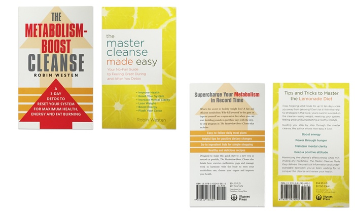 Master Cleanse Book Collection (2-Pack)