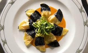 Valentino: $149 for 5-Course Italian Dinner for Two with Dessert and Wine at Michelin Starred Valentino ($250 Value)