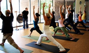 Spirit of Yoga: 10 Yoga Classes or 30 Days of Unlimited Yoga Classes at Spirit of Yoga (Up to 49% Off)