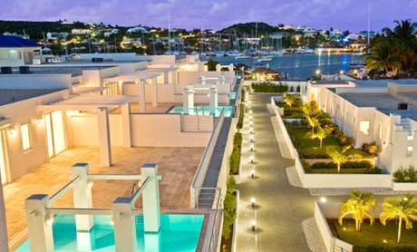4-Star Saint Martin Townhouses on Quiet Marina