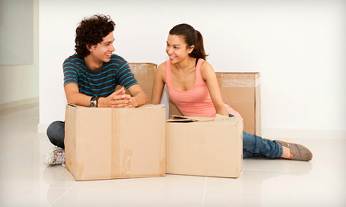 Big Guy Moving - Jacksonville: Two Hours of Moving Services with Two or Four Movers from Big Guy Moving (Up to 60% Off)