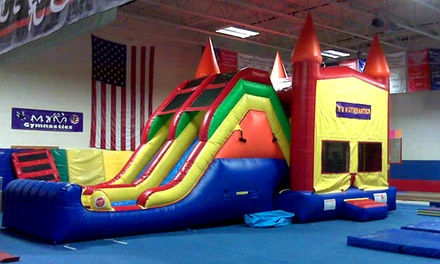 5 or 10 Kids' Open-Gym Sessions at M&M Gymnastics & Dance (Up to 51% Off). Four Options Available.