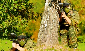 Hamburger Hill: Paintball With 50 Balls from £4 at Hamburger Hill (Up to 93% Off)