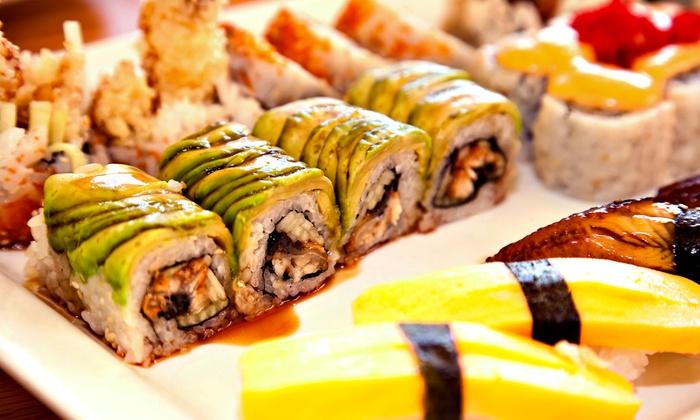 Volcano Sushi & China Bistro - Norfolk: Sushi and Pan-Asian Dinner at Volcano Sushi & China Bistro (Up to 50% Off)
