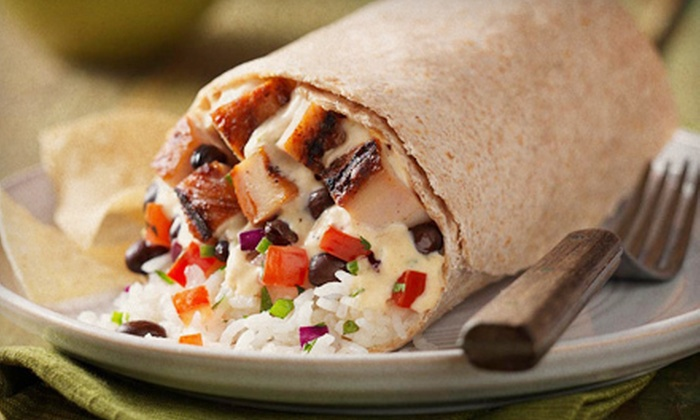 Qdoba Mexican Grill - Chapel Hill: Mexican Fare at Qdoba Mexican Grill in Chapel Hill (Half Off). Three Options Available.