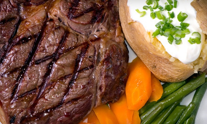 Fireplace Restaurant - Woodfin: $20 for $40 Worth of Steak-House Cuisine at The Fireplace Restaurant