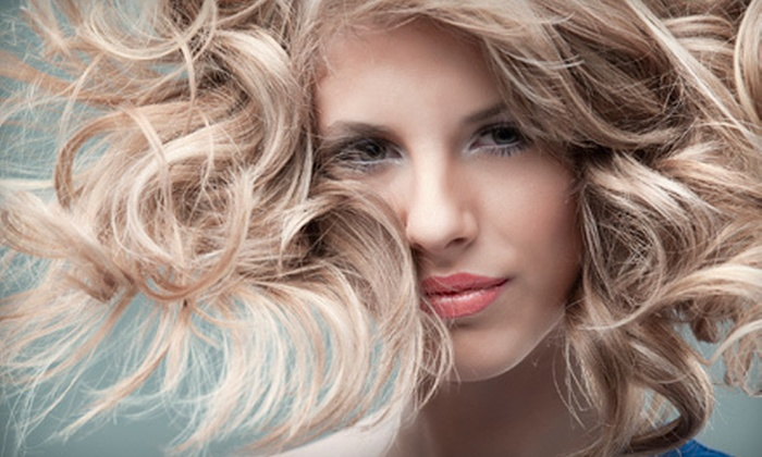 Alexandar Salon - Peachtree Heights West: Haircut and Style with Optional Partial or Full Highlights with Toner at Alexandar Salon (Up to 76% Off)