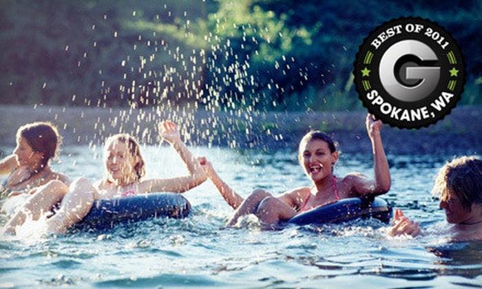 Flow Adventures - Spokane: $10 for a Tubing Trip on the Spokane River from Flow Adventures ($20 Value)