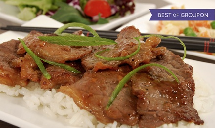 One or Two Groupons, Each good for $30 Worth of Mongolian Barbecue for Two at The Mongolie Grill (Up to 45% Off)
