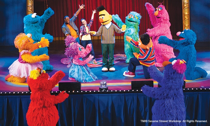 """Sesame Street Live: Let's Dance!"" at Rialto Square Theatre - Rialto Square Theatre: Sesame Street Live: Let's Dance! at Rialto Square Theatre on April 21 (Up to 46% Off)"