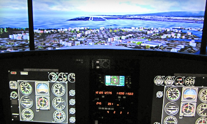 Southwest Flight Center - North Scottsdale: Flight-Simulator Session for One or Two at Southwest Flight Center in Scottsdale (Up to 70% Off)