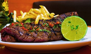 Agozar Restaurant and Lounge: $10 for 35% Off Food & Drink at Agozar Restaurant and Lounge. Groupon Reservation Required.