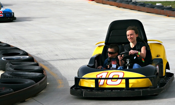 Swing-A-Round Fun Town - Fenton: All-Day Access to Unlimited Attractions for Two or Four People at Swing-A-Round Fun Town (Up to 50% Off)